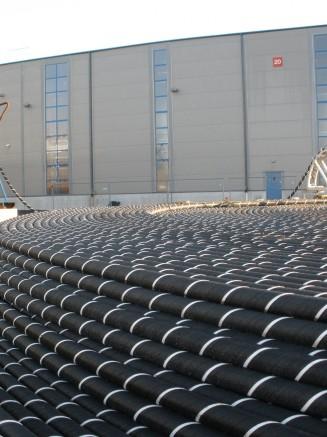 """Lietuvos-Švedijos elektros jungčiai """"NordBalt"""" pagaminti pirmieji 100 kilometrų kabelio"""