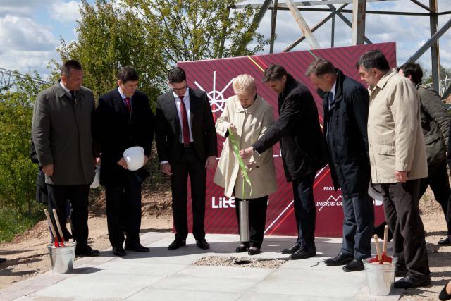 LitPol Link's construction starts in Alytus