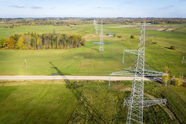 Naujoji elektros perdavimo linija Klaipėda – Telšiai