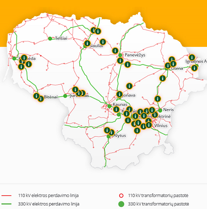 Elektromagnetinių laukų žemėlapyje – daugiau duomenų
