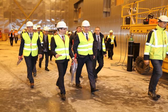 """Jungties """"NordBalt"""" darbai artėja pabaigos link"""
