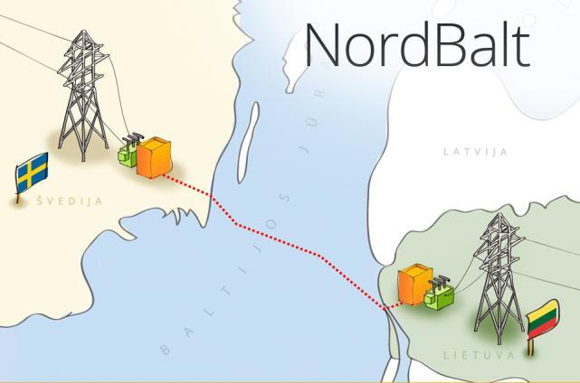 """""""NordBalt"""" paruoštas tarnauti kaip elektros sistemos ramstis"""
