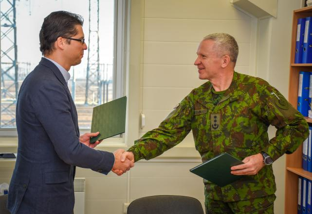 Cooperation between Litgrid and NATO Centre to ensure energy security