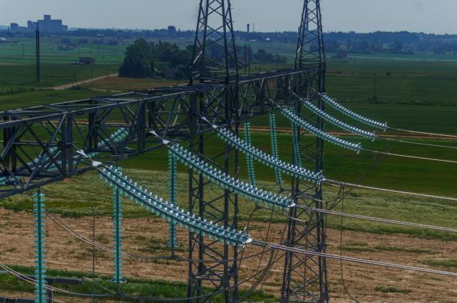 Elektros kaina rinkoje krito 11 proc.