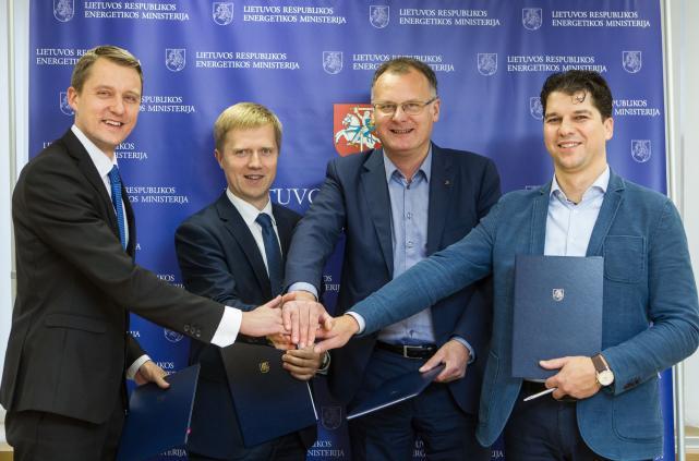 Litgrid ir energetikos ministerija pasirašė susitarimą dėl energijos sutaupymų