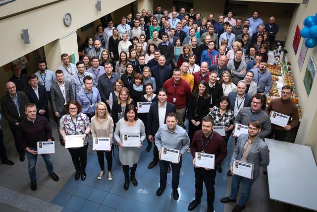 Minint Lietuvos energetikų dieną įteiktos padėkos ir garbės ženklai