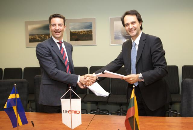 Consultancy contract signed between LITGRID and Pöyry SwedPower AB in support of the Litpol Link project implementation