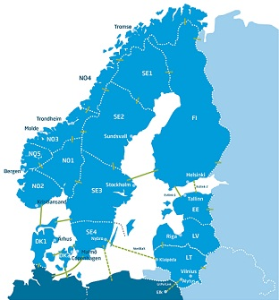 Baltic power market completed with successful opening of Latvian bidding area