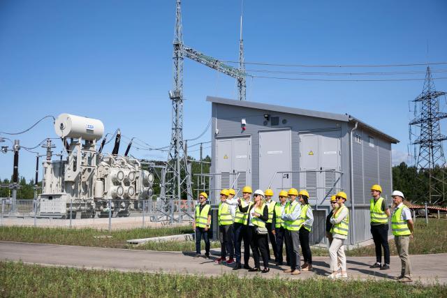Energetikos ministras Dainius Kreivys lankėsi Ignalinos AE TP